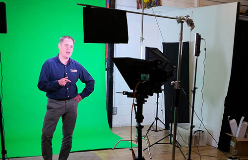 image green screen studio