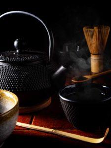 photograph image a Japanese Tea Pot