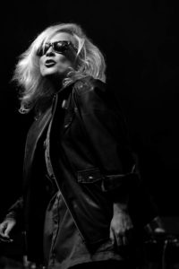 photograph. Totally Blondie. Female singer