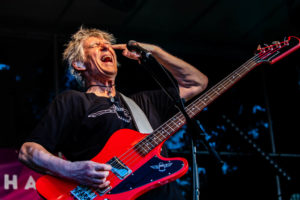 Photograph. Live music event, Bass player, Martin Turner
